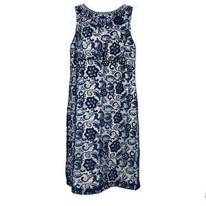 Collection Dressbarn Lace Overlay Sleeveless Dress